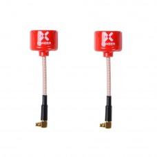 Foxeer Lollipop V3 5.8GHz Antena - MMCX 90 konektors RHCP (2gab)