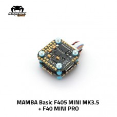 Diatone Mamba Basic F405 Mini MK3.5 + F40Pro BL32 40A 3-6S ESC Stack