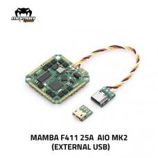 Diatone Mamba F411 AIO 25A FC External USB
