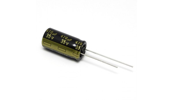 Panasonic 470uF 35V Low ESR Capacitor