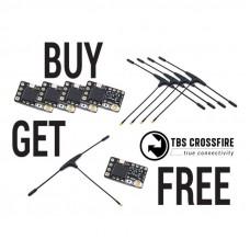 TBS Crossfire Nano RX (SE) - Pērc 4, saņem 1 par brīvu