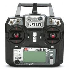 FlySky FS-i6X 2.4GHz raidītājs ar FS-X6B uztvērēju (Mode 2)