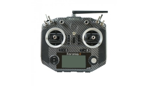FrSky Taranis Q X7S with M7 Hall Sensor Gimbal 16 Channels Transmitter Carbon finish ACCESS