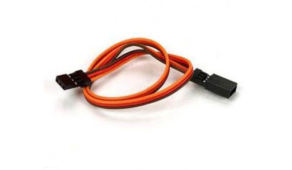 JR Straight vada pagarinātājs 15cm 26AWG (servo cable)