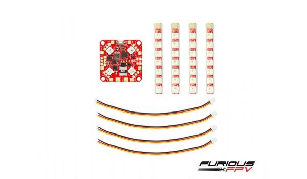 FuriousFPV Lightning PDB with Single Row LED Strip