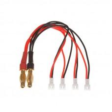 Lādēšanas vads 4 paralēlu bateriju lādēšanai nano CPX etc. / Molex