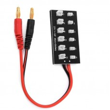 Lādēšanas pamatne paralēlu bateriju lādēšanai 6x Molex + 6x MCPX  / PWC PowerWhoopConnector / JST-PH