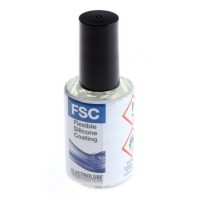 Electrolube Conformal Silicone Coating FSC, 15ml