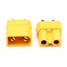 XT30 Amass Konektors (pāris) - dzeltens