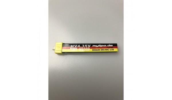 MyLipo 333mAh 1s 25C/50C HV (4,35V) Lipo Pack BT2.0 Connector