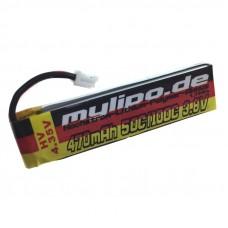 MyLipo 470mAh 1S HV 50C/100C HV (4,35V) Lipo Pack (JST-PH)