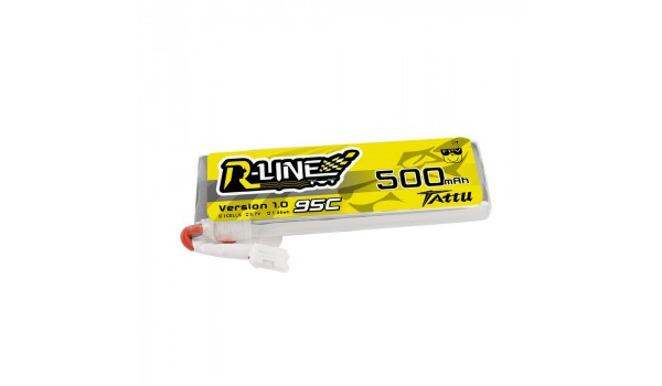 Tattu 500mAh 95C 3.7V Lipo Pack (JST-PH)