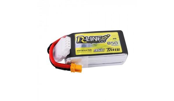 Tattu R-Line 850mAh 3s 95c LiPo Pack (XT30)