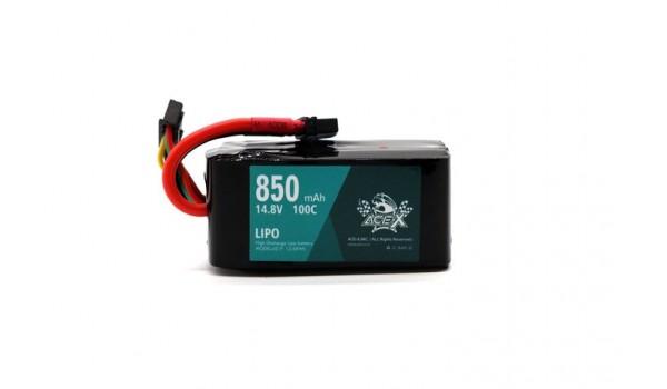 Acehe Ace-X 850mah 4s 100-200c Lipo (XT30)