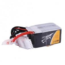 Tattu 450mAh 4S 75C Lipo Pack (XT30)