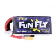 Tattu Funfly 1550mAh 4s 100c LiPo Pack