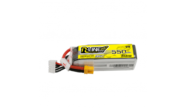 Tattu R-Line 550mAh 4s 95c LiPo Pack (XT30)