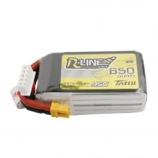 Tattu R-Line 650mAh 4s 95c LiPo Pack (XT30)