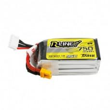 Tattu R-Line 750mAh 4s 95c LiPo Pack (XT30)