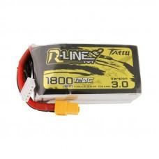 Tattu R-Line Version 3.0 1800mAh 4s 120c LiPo Pack (XT60)