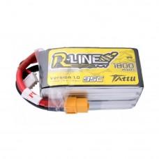 Tattu R-Line 1800mAh 4s 95c LiPo Pack