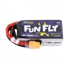 Tattu Funfly 1300mAh 4s 100c LiPo Pack