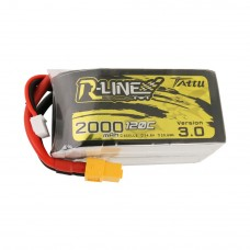 Tattu R-Line Version 3.0 2000mAh 4s 120c LiPo Pack (XT60)