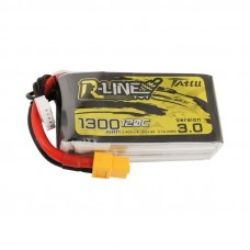 Tattu R-Line Version 3.0 1300mAh 4s 120c LiPo Pack (XT60)