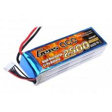 GensAce 2500mAh 18.5V 25C 5S1P Lipo Battery Pack