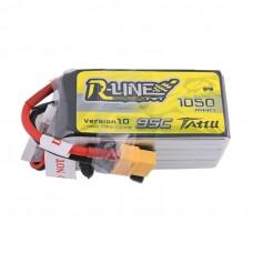Tattu R-Line 1050mAh 6s 95c LiPo Pack (XT60)