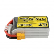 Tattu R-Line Version 4.0 1300mAh 6s 130c LiPo Pack (XT60)
