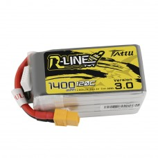 Tattu R-Line Version 3.0 1300mAh 6s 120c LiPo Pack (XT60)