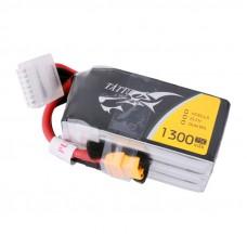 Tattu 1300mAh 6s 75c LiPo Pack (XT60)
