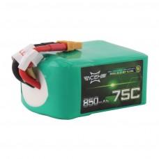 Acehe 6S 22.2V 75-150C 850mah - Racing Series (XT60)