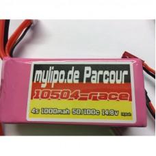 MyLipo 1000mAh 4s 14,8V 50C/100C FPV Parcour Lipo Pack