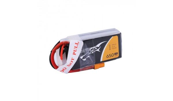 Tattu 650mAh 3S 75C Lipo Pack
