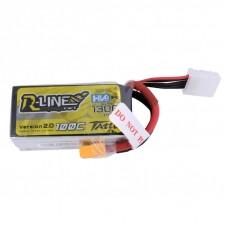 Tattu R-Line 1300mAh 4s 100C 15.2V HV LiPo Pack
