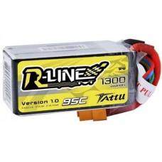 Tattu R-Line 1300mAh 4s 95c LiPo Pack