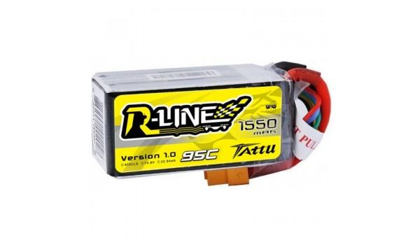 Tattu R-Line 1550mAh 4s 95c LiPo Pack