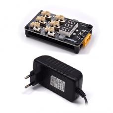 BetaFPV Battery Charger Board 1S BT2.0 ar barošanas bloku