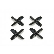 HQ 1.2x1.3x4 Black ABS Whoop Propeller 0.8mm 2CW + 2CCW