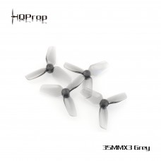 HQ Micro Whoop Prop 35mmX3 Grey 1mm 2CW + 2CCW