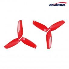 Gemfan Flash 2540 3-blade red PC 4CW+4CCW