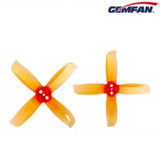 Gemfan Hulkie 2036-4 Clear Orange Props 3 holes 4CW+4CCW