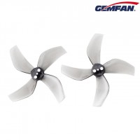 Gemfan Ducted D51 2020-4 Clear Grey Props 3 holes 4CW+4CCW