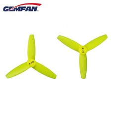 Gemfan 3035 PC 3 Blade Bullnose 3-Holes Yellow Props 2CW+2CCW