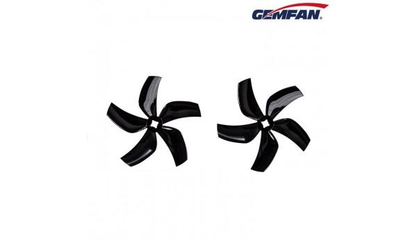 Gemfan Ducted D76 3030 Black Props 2CW+2CCW