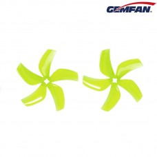 Gemfan Ducted D76 3030 Yellow Props 2CW+2CCW