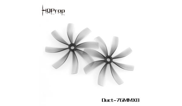 HQ Duct-75MMX8 for Cinewhoop Grey 2CW+2CCW