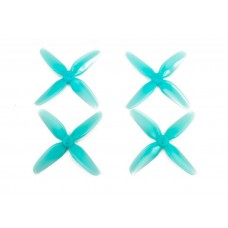 HQ T3.1x3x4 PC Light Blue 2CW + 2CCW